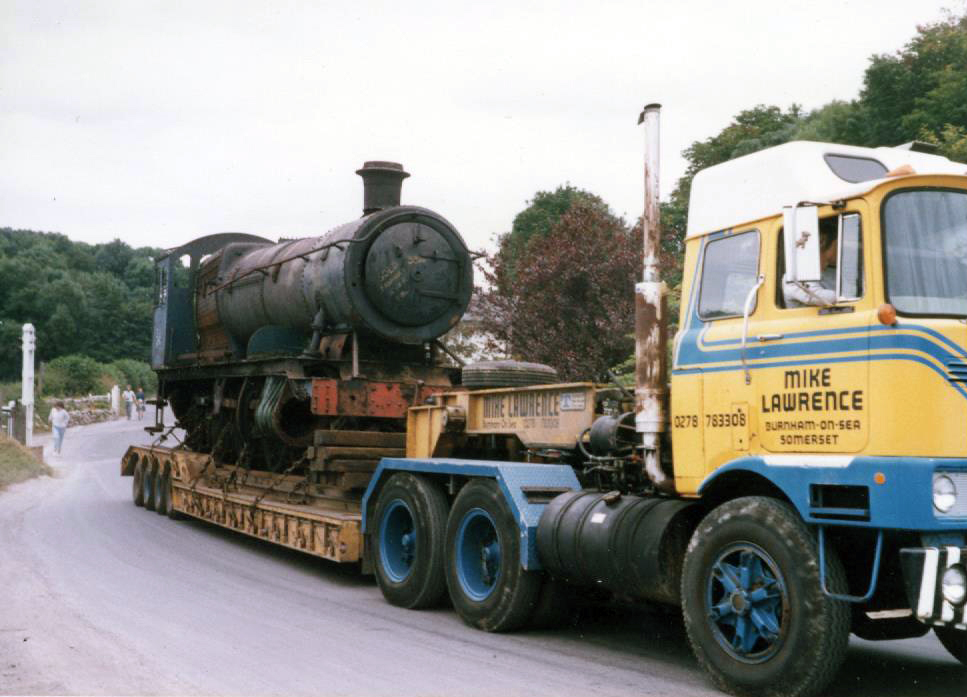 Delivery to NYMR July 1986 - Please help me move on my own again